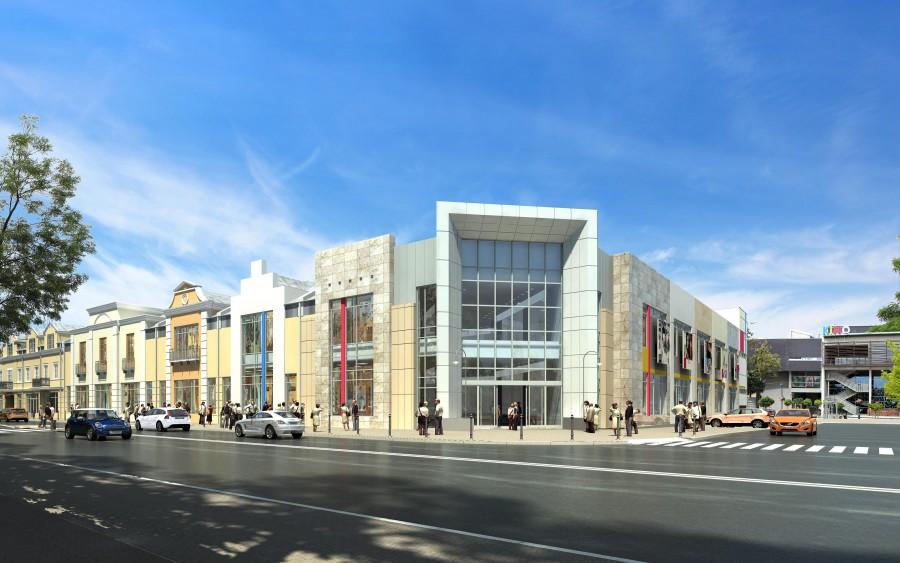 Planowana budowa galerii przy ul. Sienkiewicza w Grodzisku Mazowieckim.
